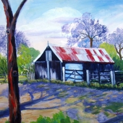 Cecil Lodge Barn Acrylic