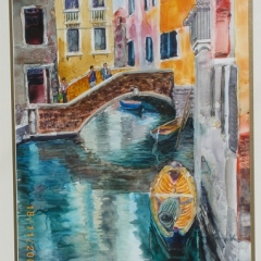 Venetian Canal 1-sold