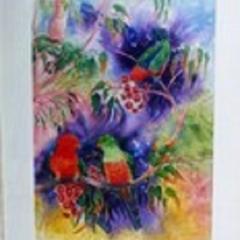 King Parrots 1 55cm x 35cm
