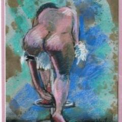 nude framed
