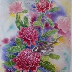 Waratahs-Watercolour
